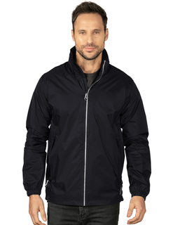 Spokane-Mens Lined Waterproof Packable Jacket-