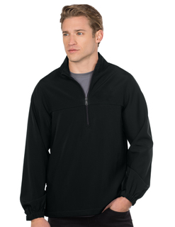 Wade-Mens Halfzip Windshirt-Tri-Mountain