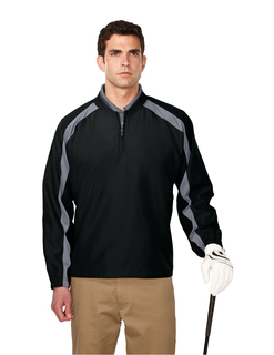 Chandler-Mens100%MicroPlyester1/4ZipWindShirt-TM Performance