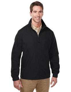 Radius-Lightweight Jacket Features A Windproof/Water Resistant Shell Of 65% Polyester/35% Cotton