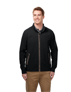 Carlton-Mens Jacket With 100% Nylon w/Water Repellent 600mm Coating-Tri-Mountain Gold