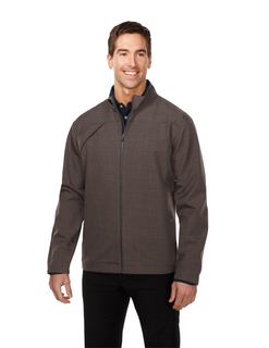 Overland-Mens Bonded Zip Jacket w/Tmp Smoky Zip Pull, Two Pocket With Snap Closure,