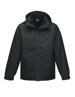 Utah-Mens 2 In I 100% Polyester w/R Jacket, Inside Poly Fleece Jacket