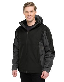 Bellingham-Mens 100% Polyester 3-In-1 Jacket-