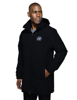 Rockland-Mens Fleece Jacket 3-In-1 System Hooded Parka
