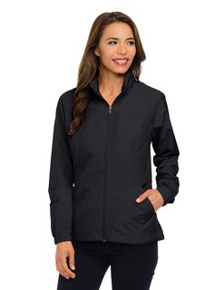 Lady Vital Lwj-Womens 100% Polyester Full Zip Jacket-Tri-Mountain