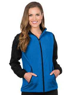 Alameda-Womens Midweight Nylon/Fleece Jacket-Tri-Mountain