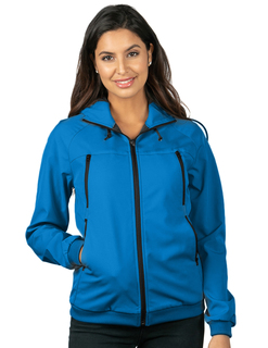 Advent-Womens Bonded Soft Shell Hooded Jacket-TM Performance
