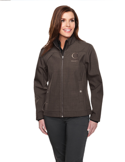 Oakbrook-Womens Bonded Zip Jacket w/Tmp Smoky Zip Pull, Two Pocket With Snap Closure,