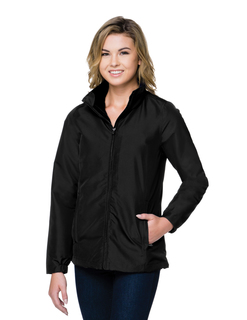Hallowell-Womens 3-In-1 Jacket Features A Shell Constructed Of Windproof/Water-Resistant Polyester-Tri-Mountain
