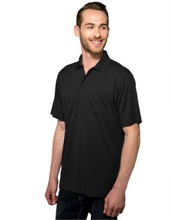 Vital Pocket-Mens 100% Polyester Knite Gold Shirt