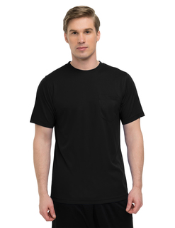 Vital Pocket Crew-5 Oz 100% Polyester Mini-Pique Pocketed Short Sleeve Crewneck Shirt w/ Ultracool™ Moisture-Wicking-