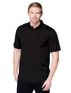 Vital Snap-5 Oz 100% Polyester Mini-Pique Short Sleeve Polo Featuring Moisture-Wicking-