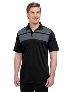 Streak-Mens 5 Oz 100% Polyester Mini-Pique Polo Featuring Ultracool™ Moisture-Wicking Technology-