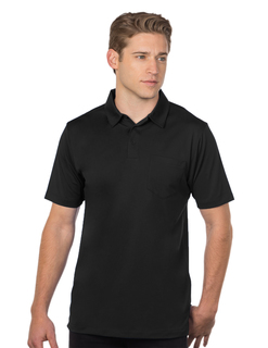Stalwart Pocket-Mens Pocketed Snagresistant Polo-TM Performance