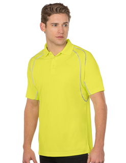 Guardian-Mens Safety Polo With Reflective Piping-