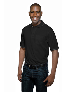 Trace Pocket-Mens Knit S/S Golf Shirt