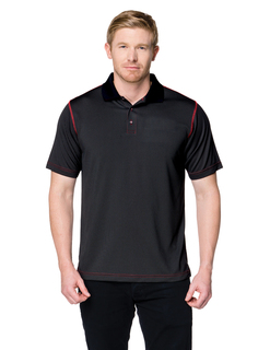 Cf-3-Moisture-Wicking 5 Oz. 100% Polyester Polo Featuring Our Exclusive Carbon Fiber Pattern