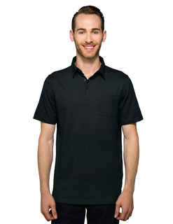 Fest-Mens 6.3 Oz 60% Cotton/40% Polyester Slub Polo With Pocket