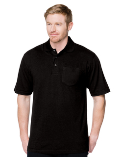Assembly Pocket-6 Oz. 60% Cotton/40% Polyester Pique Short Sleeve Pocketed Polo-Tri-Mountain