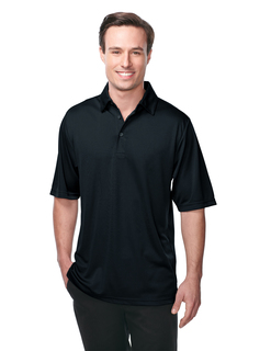 Innovate-Mens 100% Polyester Knit S/S Golf Shirt
