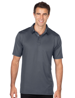 Damon Polo-Mens Jacquard Polo-Tri-Mountain Gold