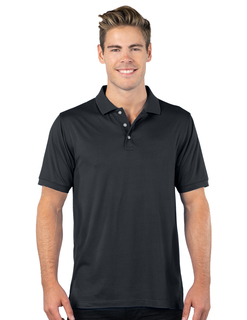 Mens Luxe Polo-Mens Ultra Soft Doublepeached Polo-