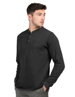 Heath-Mens Mini Stripe L/S Shirt-Tri-Mountain
