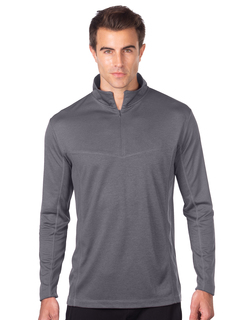 Athos-Mens Heather 14zip Performance Pullover-