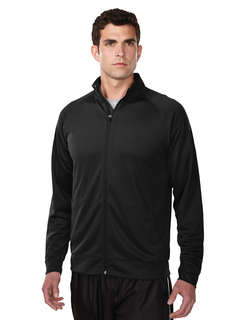 Exocet-Mens 100% Polyester Knit Full Zip Jacket-