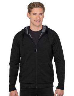 Leverage Hoody-Mens Triblend French Terry Hoody-TM Performance