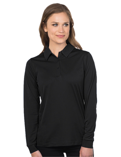 Lady Stalwart Long Sleeve-Womens L/S Snag-Resistant Polo-TM Performance