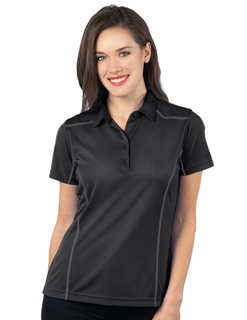 Lady Adrenaline-Womens Contrast Stitched Performance Polo-