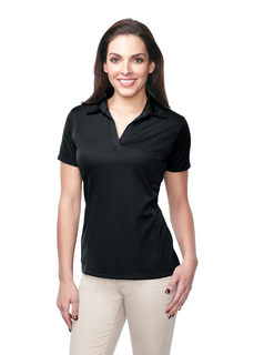 Lady Innovate-Womens 100% Polyester Knit S/S Golf Shirt