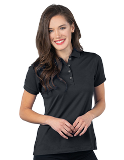 Womens Luxe Polo-Womens Ultra Soft Doublepeached Polo-