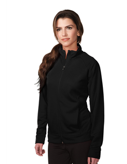 Lady Exocet-Womens 100% Polyester Knit Full Zip Jacket