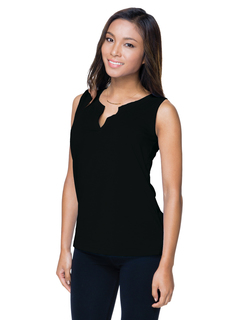 Lucy-67 Oz 95% Cotton/5% Spandex Jersey Sleeveless Knit Shirt-