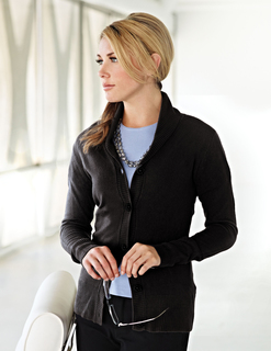 Ava-Womens 100% Arcylic Long Sleeve Sweater Cardigan