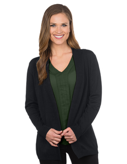 Cora-Womens Rib Cardigan Sweater-