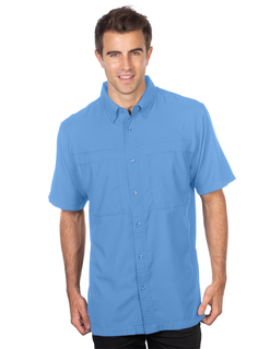 Arbor Short Sleeve-Mens Short Sleeve Fishing Shirt-Tri-Mountain