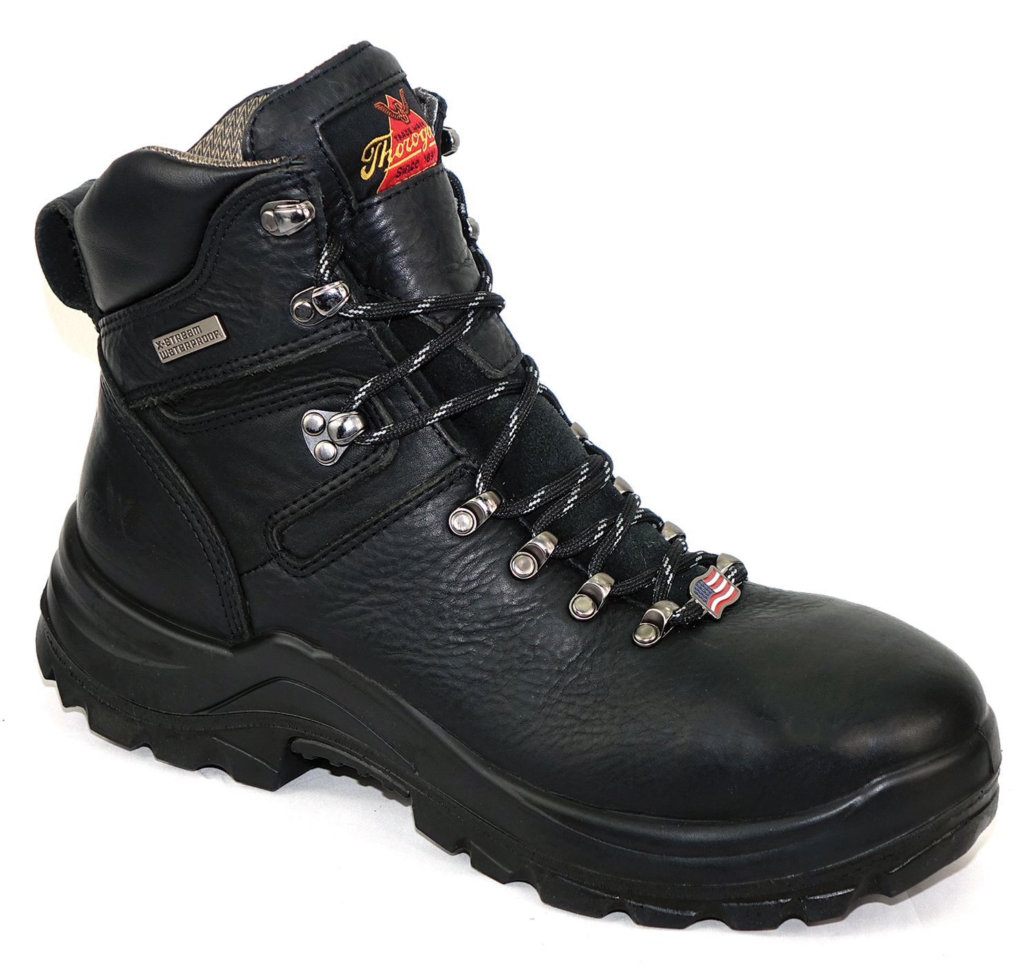 "OMNI™ SERIES  6"" BLACK SAFETY TOE-Thorogood Shoes"