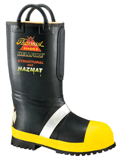 507-6000 Womens Rubber Insulated Fire Boot With Lug Sole