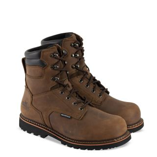 V series waterproof 8 crazyhorse safety toe-Thorogood Shoes