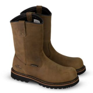 V Series Waterproof Wellington Crazyhorse Safety Toe-Thorogood Shoes