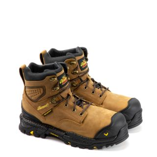 INFINITY FD SERIES ? 6? BUTTERSCOTCH WATERPROOF SAFETY TOE BOOT-Thorogood Shoes