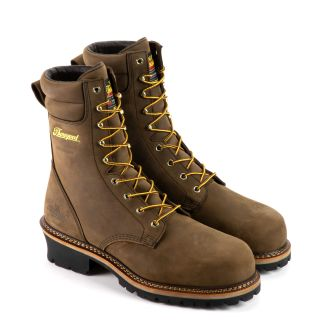 Logger Series 9 Studhorse Brown Waterproof/Comp Toe/Insulated 600g-Thorogood Shoes