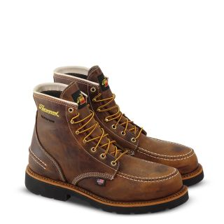 1957 Series Waterproof Safety Toe 6 Crazyhorse Moc Toe Maxwear90-Thorogood Shoes