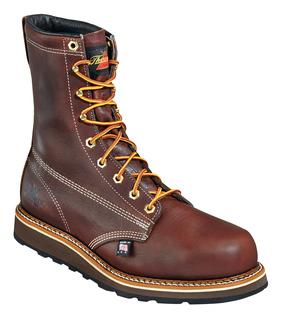 """804-4518 8"""" Plain Toe - Safety Toe-Thorogood Shoes"""