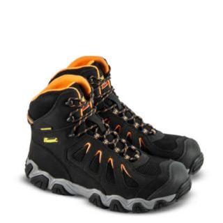 Crosstrex series waterproof 6 black safety toe hiker-Thorogood Shoes