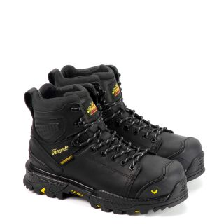 Infinity Fd Series 6 Black Waterproof Safety Toe Boot-Thorogood Shoes